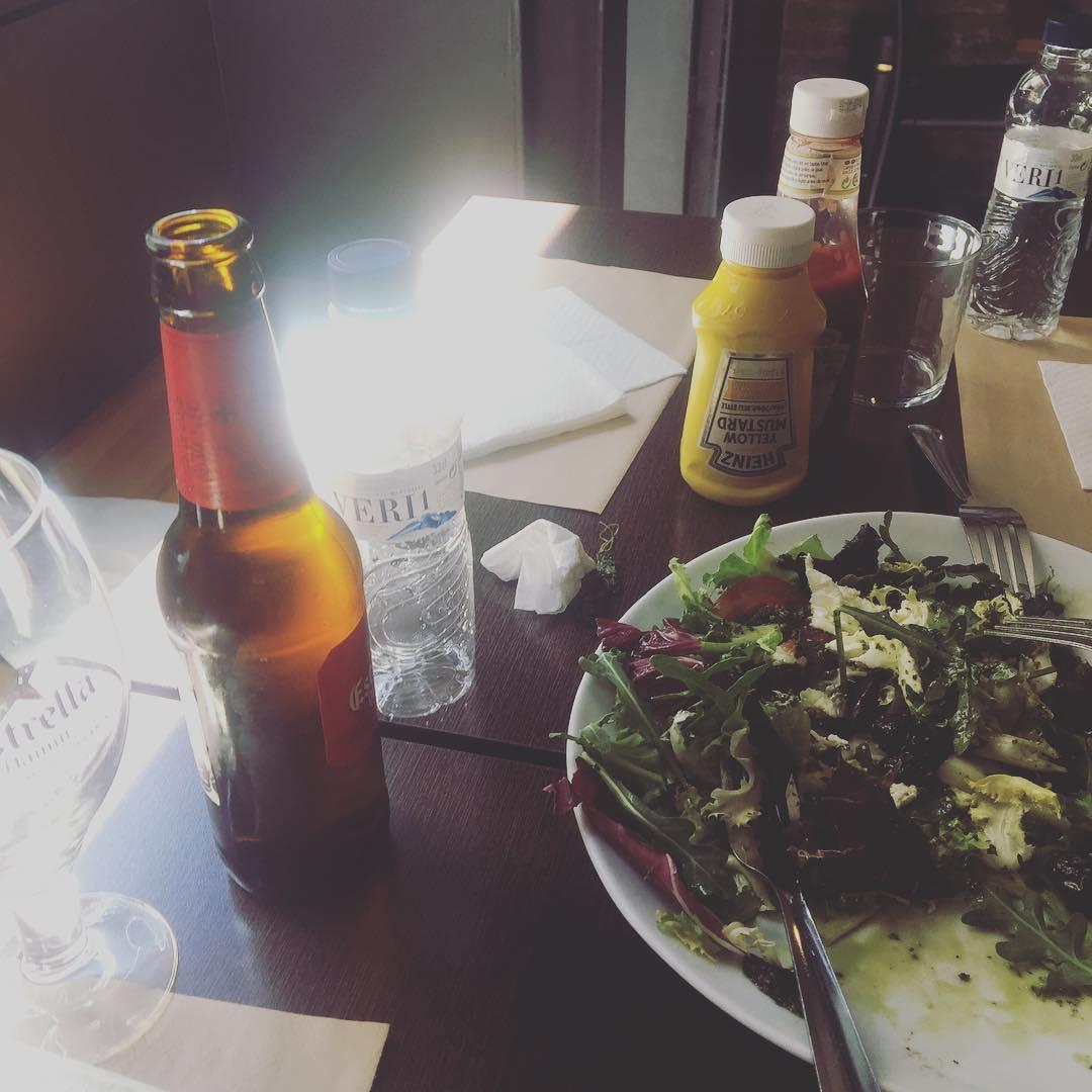 Comemos un poco tarde hoy ;))