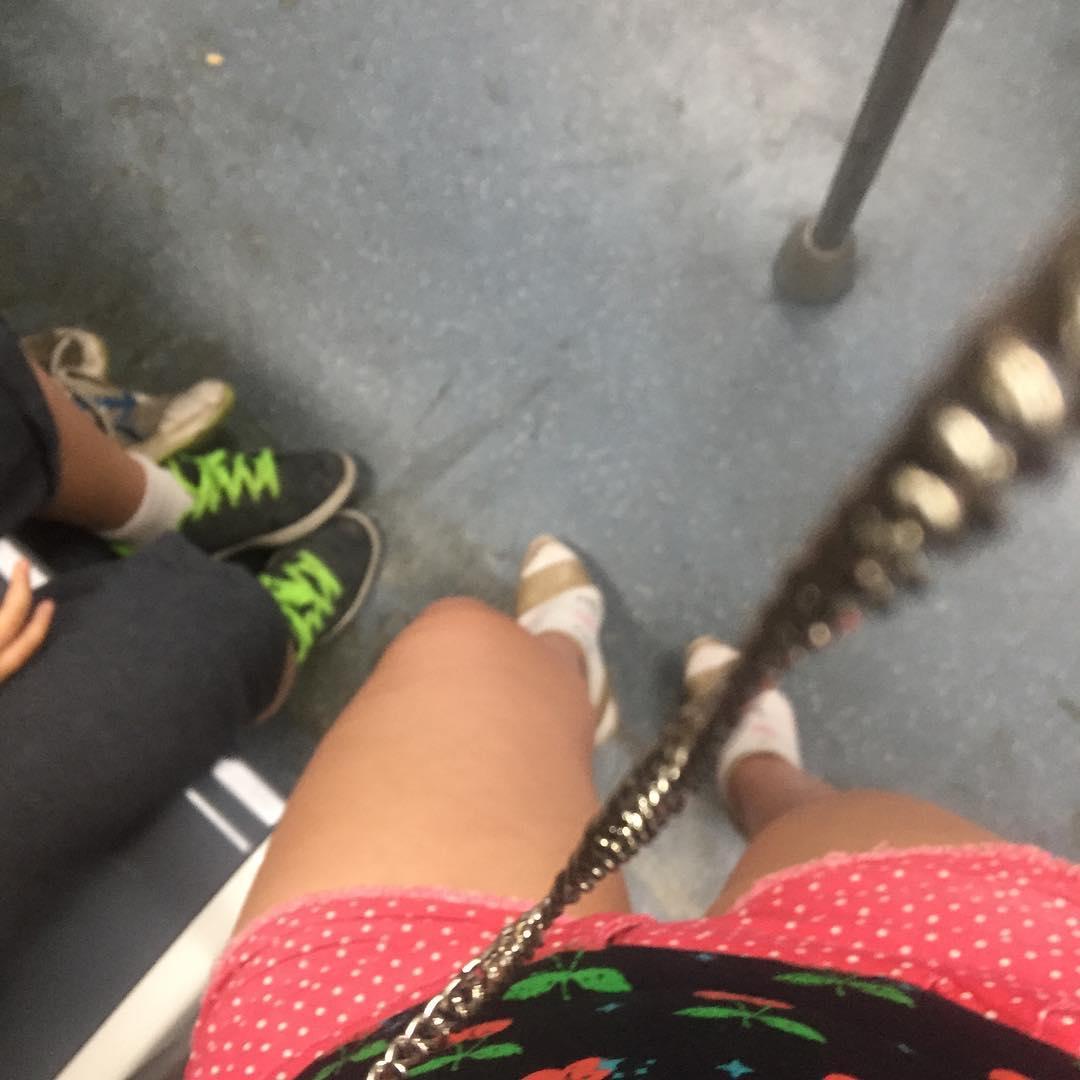 In the #metro ;))
