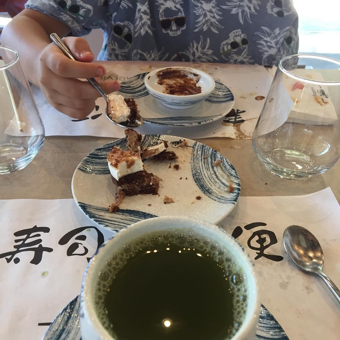 Y #horadelospostres @gosushing :)) Juan dice que... deliciosos!