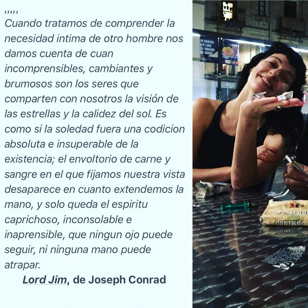 ... que ningun ojo puede seguir, ni ninguna mano puede atrapar...Lord Jim, de #JosephConrad