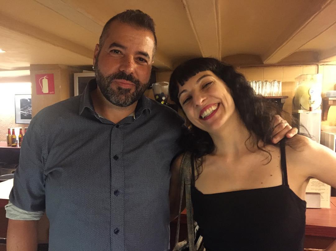 Me he encontrado a @petitdesastre de fiesta en el @Canigogracia ;)) #felizcumpleaños
