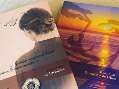 Gracias a todos los que habéis leído #labachillera y #elecuadordeulises este verano. En octubre sale una nueva novela 