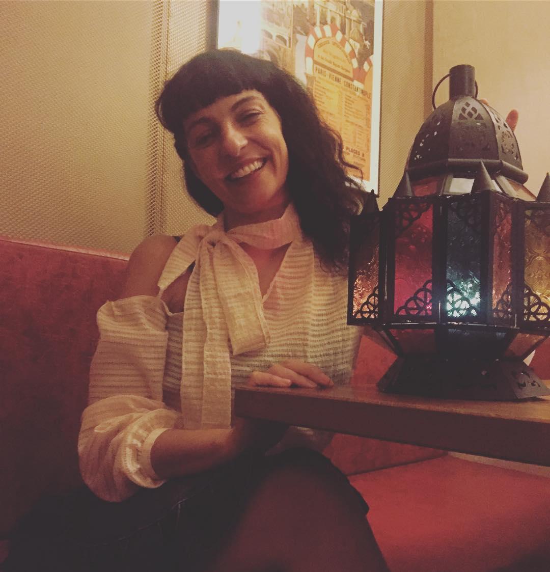 Mirad qué cara de qué bien he cenado en el #karakala de @mathiasenard ;))