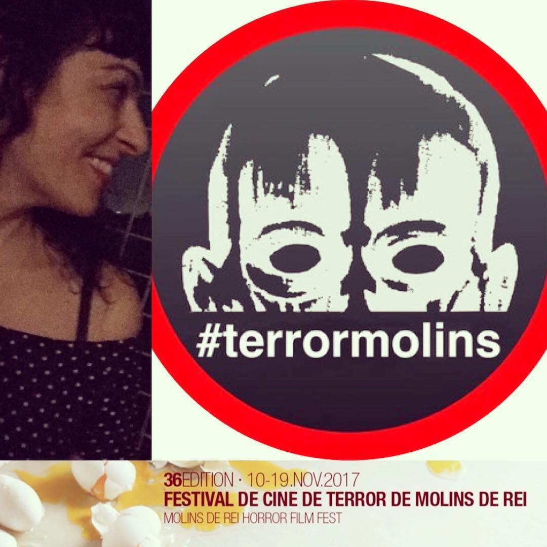 Ser enguany membre del jurat del Festival @terrormolins m'emociona! #terrormolins