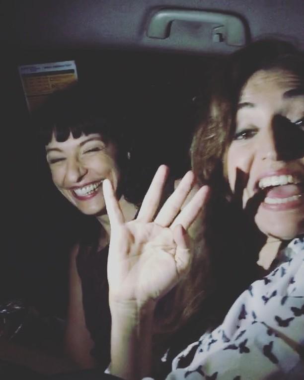 Hoy en un taxi hemos hablado de @orgasmos_bcn con @orgasmos_bcn ;))