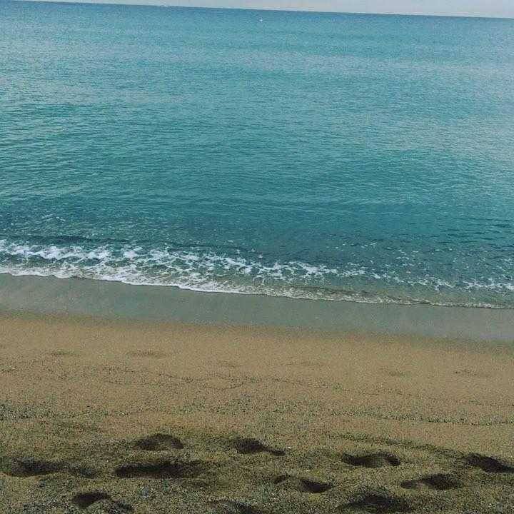 El mar más cálido es el de octubre: 24°C