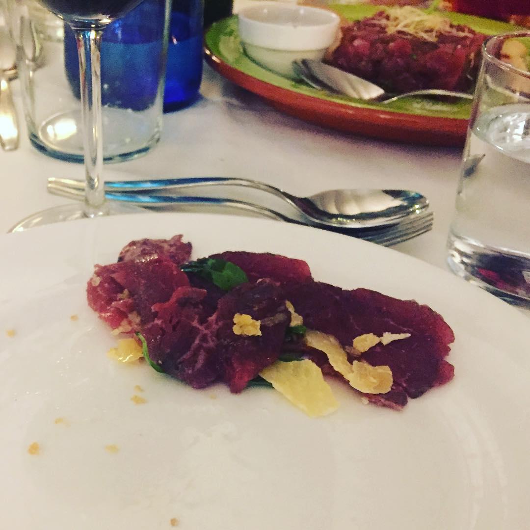 A cenar ;))