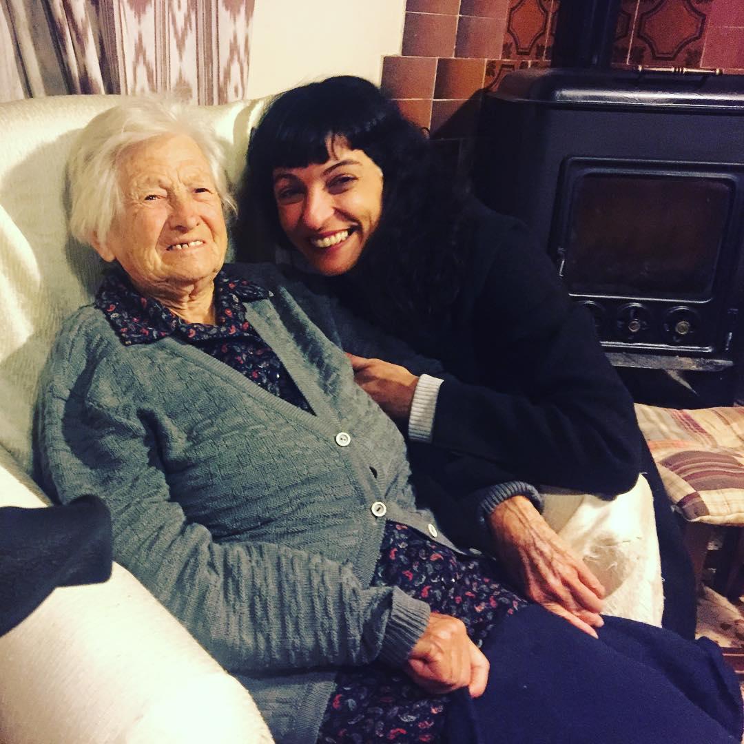 Amo a mi abuela Catalina