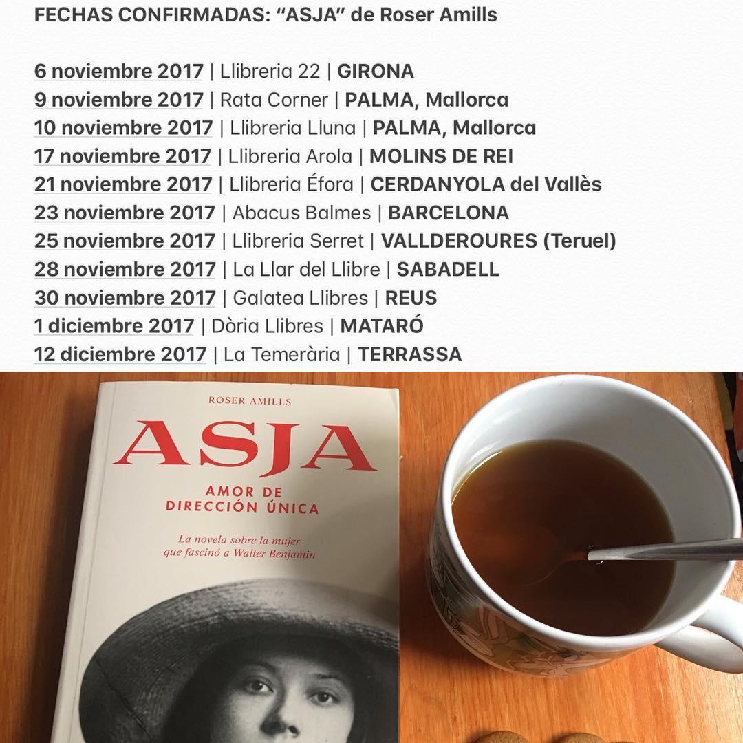 Sigue la gira de #asjalacis y espero verte! Elige lugar y día de nuestra cita, ya 📚💕