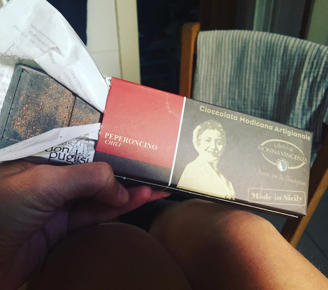 Un poco de #cioccolatamodicana de #sicily❤️