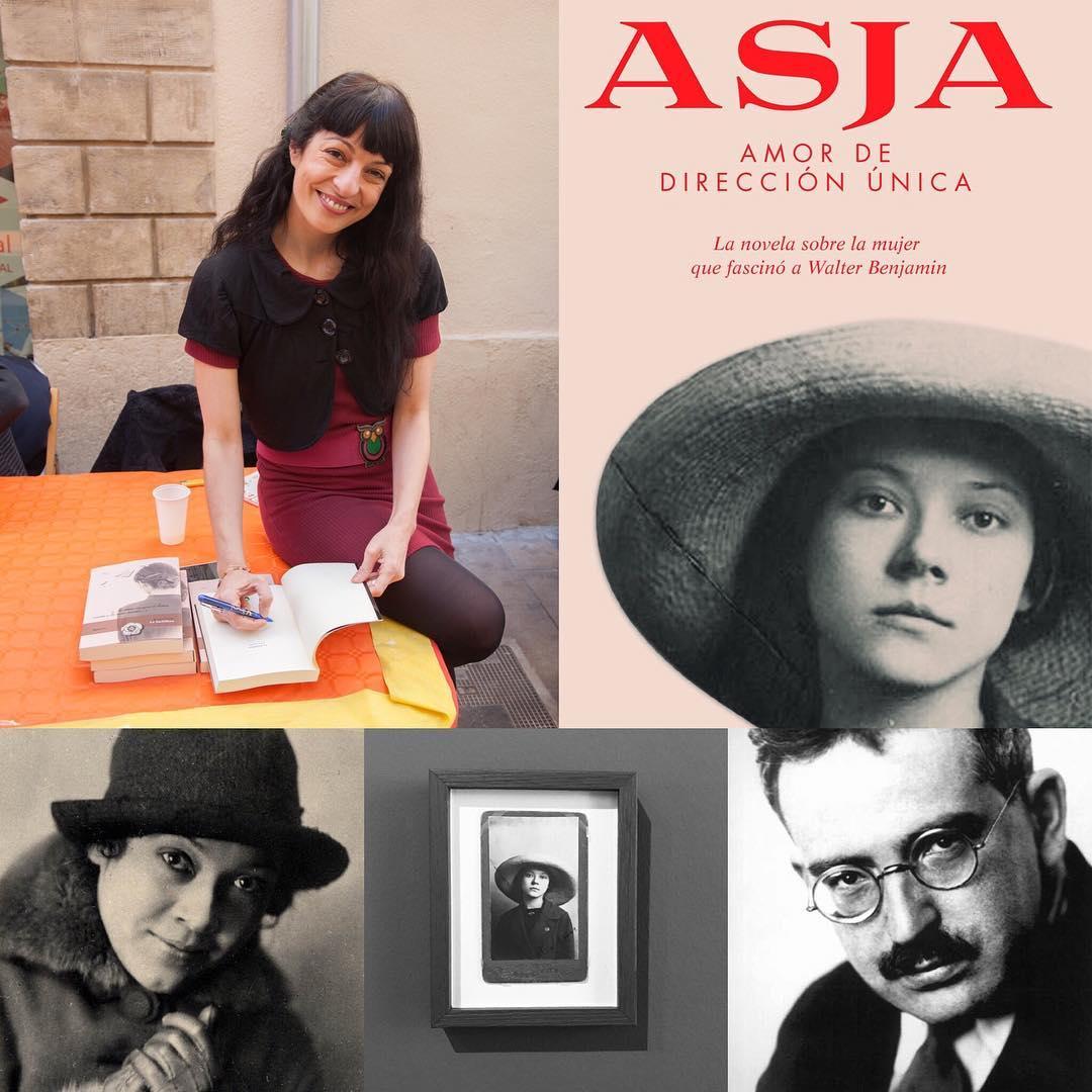 Hoy, dia 21, presento en la @llibreria_efora de #Cerdanyola la apasionante y olvidada historia de #AsjaLacis & #walterbenjamin. Venid!!