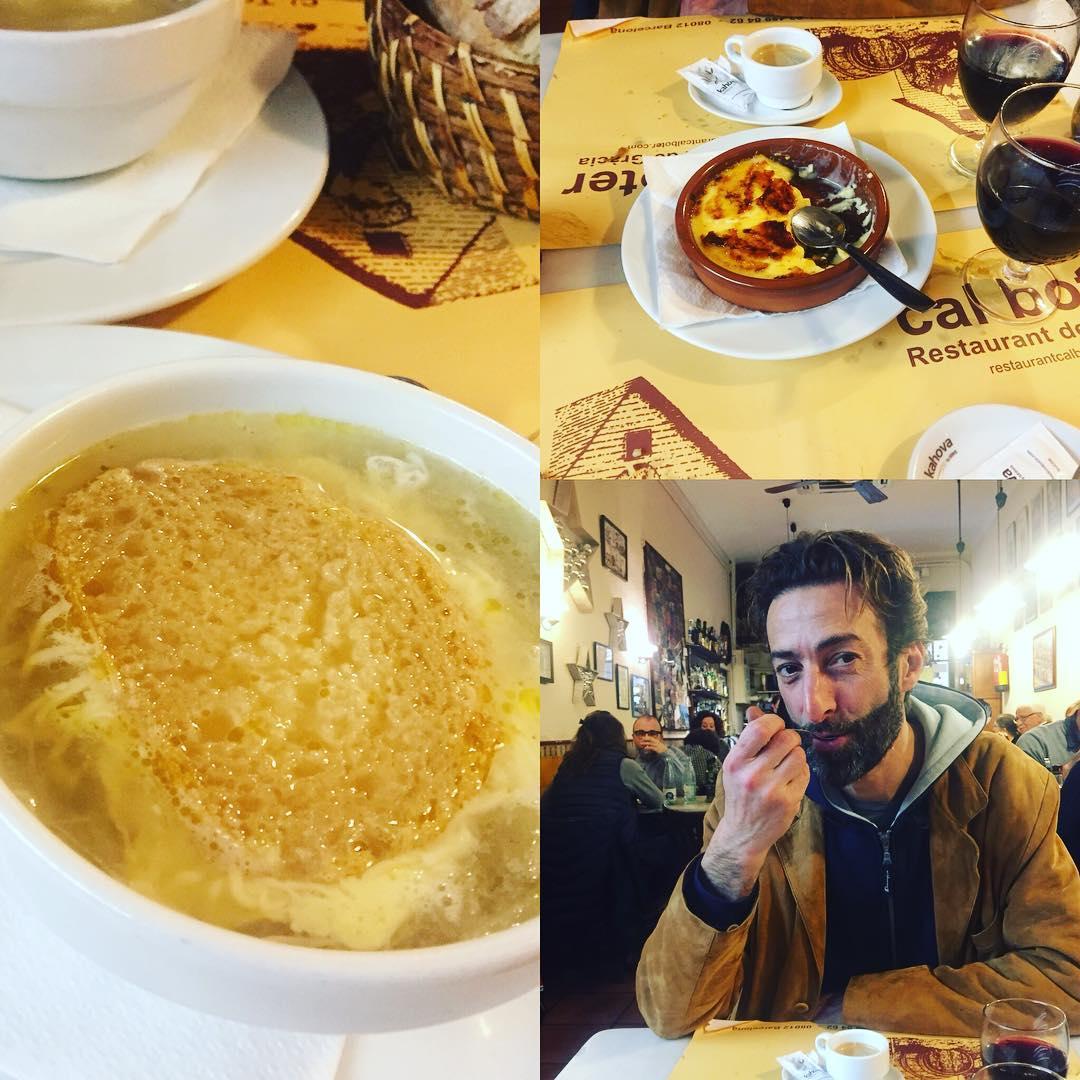 Ha estat un luxe dinar a #calboter ;))