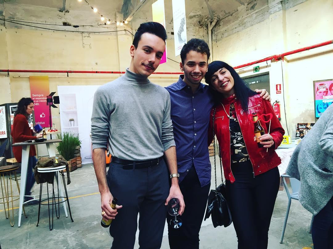 Los premios @timeoutbcn están llenos de #almasbonitas #timeoutbcn #barcelona #surtalcarrer #premistimeout2017 #litacabellut #sidecarfactoryclub #barleo #bostikmurals #rosalia #losangeles #refree #malahierba #casanostracasavostra #canros #nuriagraham