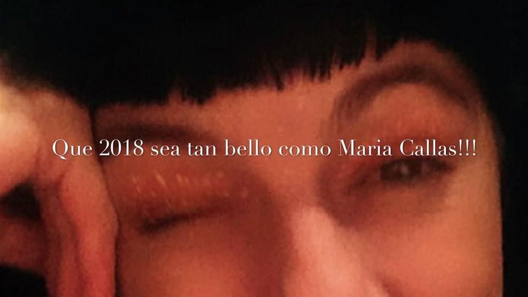 Que 2018 sea tan bello como Maria Callas!!! #happynewyear #feliz2018 #almasbonitas 💕