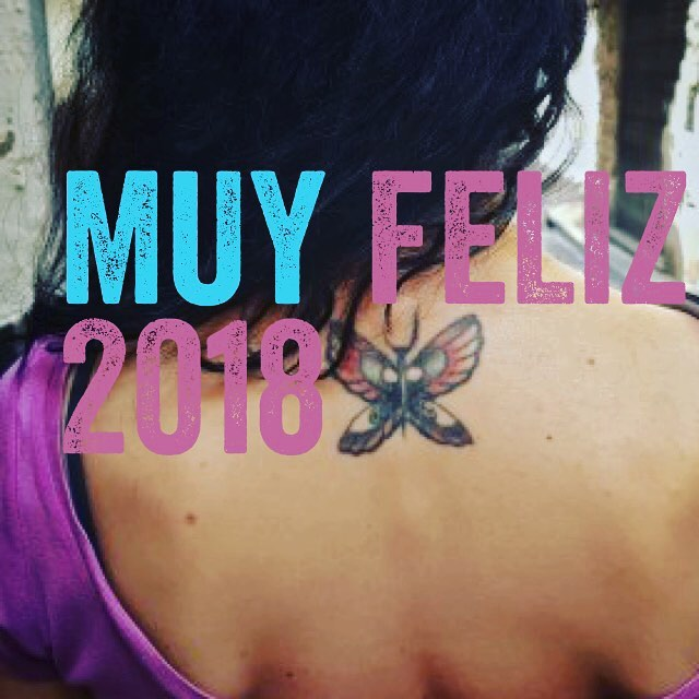 Muy #feliz2018 ;))