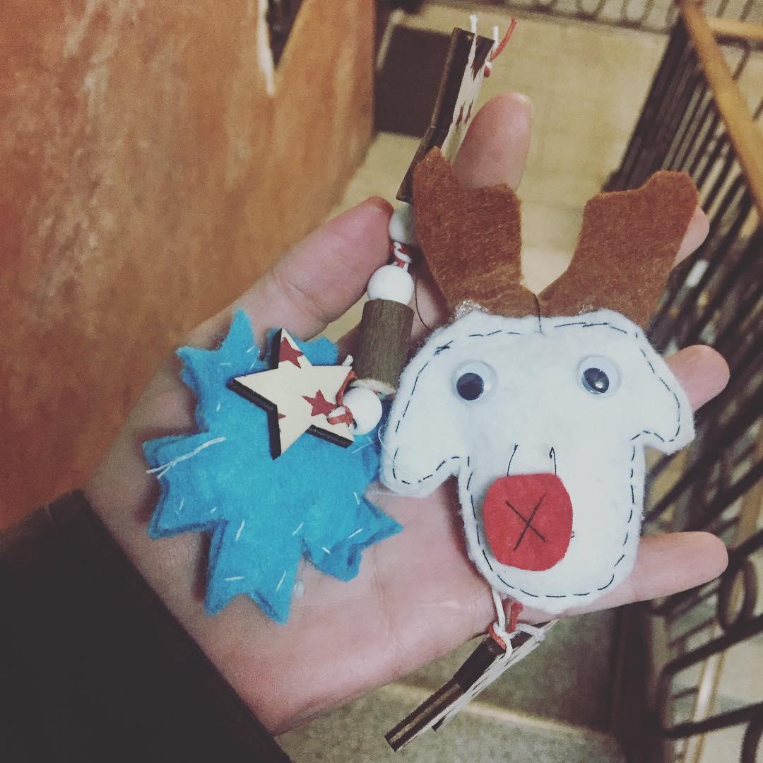 Decoración navideña off :))