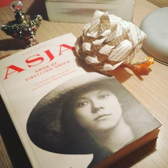 novela sobre #asjalacis & #walterbenjamin de Roser Amills