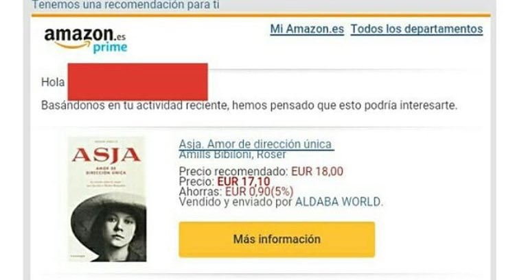 ¿Dónde puedo comprar los libros de Roser Amills? En Amazon, por ejemplo...