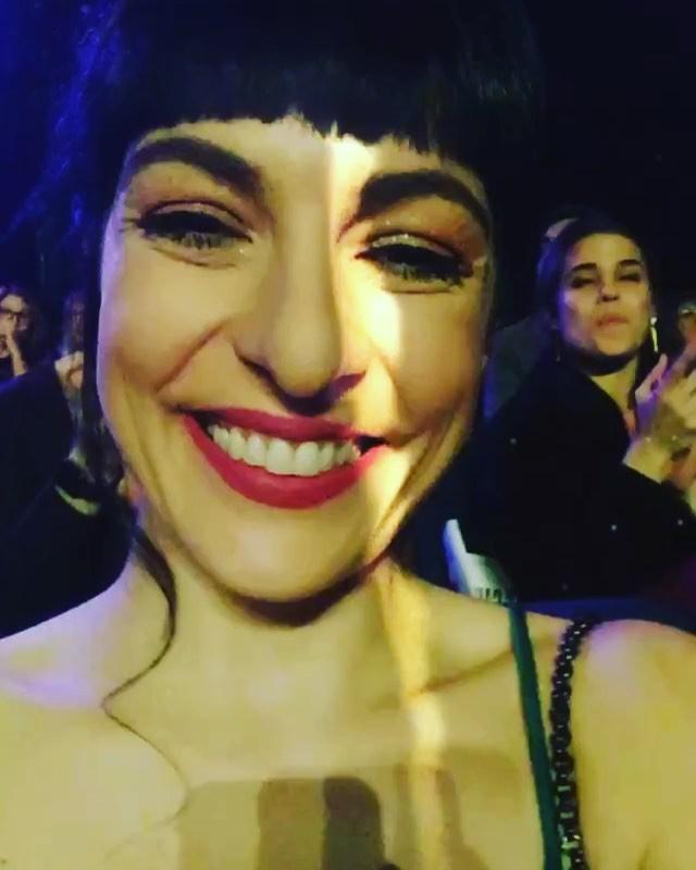 Me siento radiante en los #10premisgaudí y la culpa la tiene @backstagebcn ;))