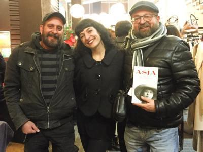 Ahir vaig desvirtualitzar en #carlesdomenech a @galleryhotelbcn ;))