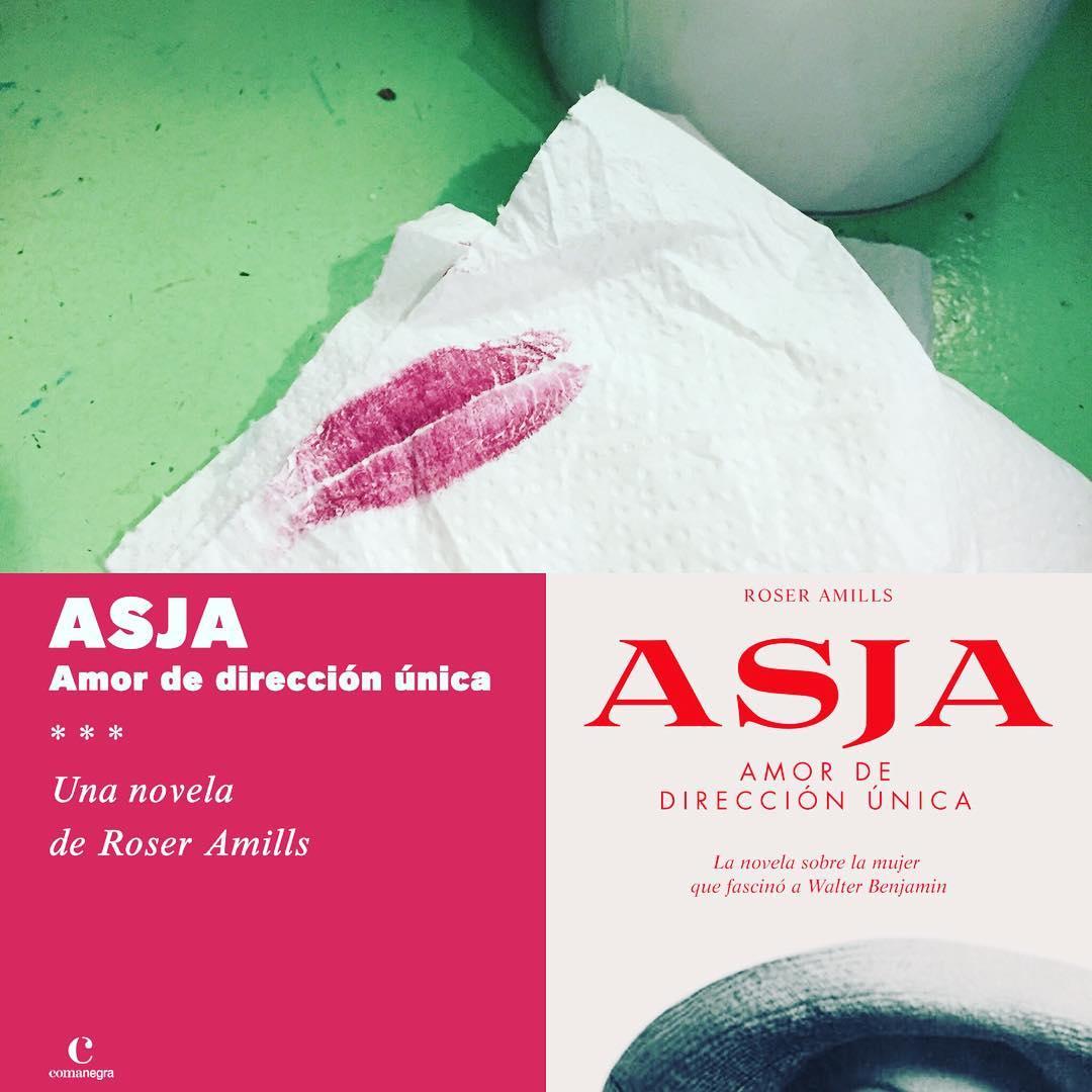 """novela asja de roser amills Presentació de la meva novel·la """"Asja. Amor de dirección única"""", editada per @comanegra, a #Granollers 📅 avui, dijous 8 de febrer ⌚️ 19.30h📍 Llibreria @llibrerialagralla GRANOLLERS"""