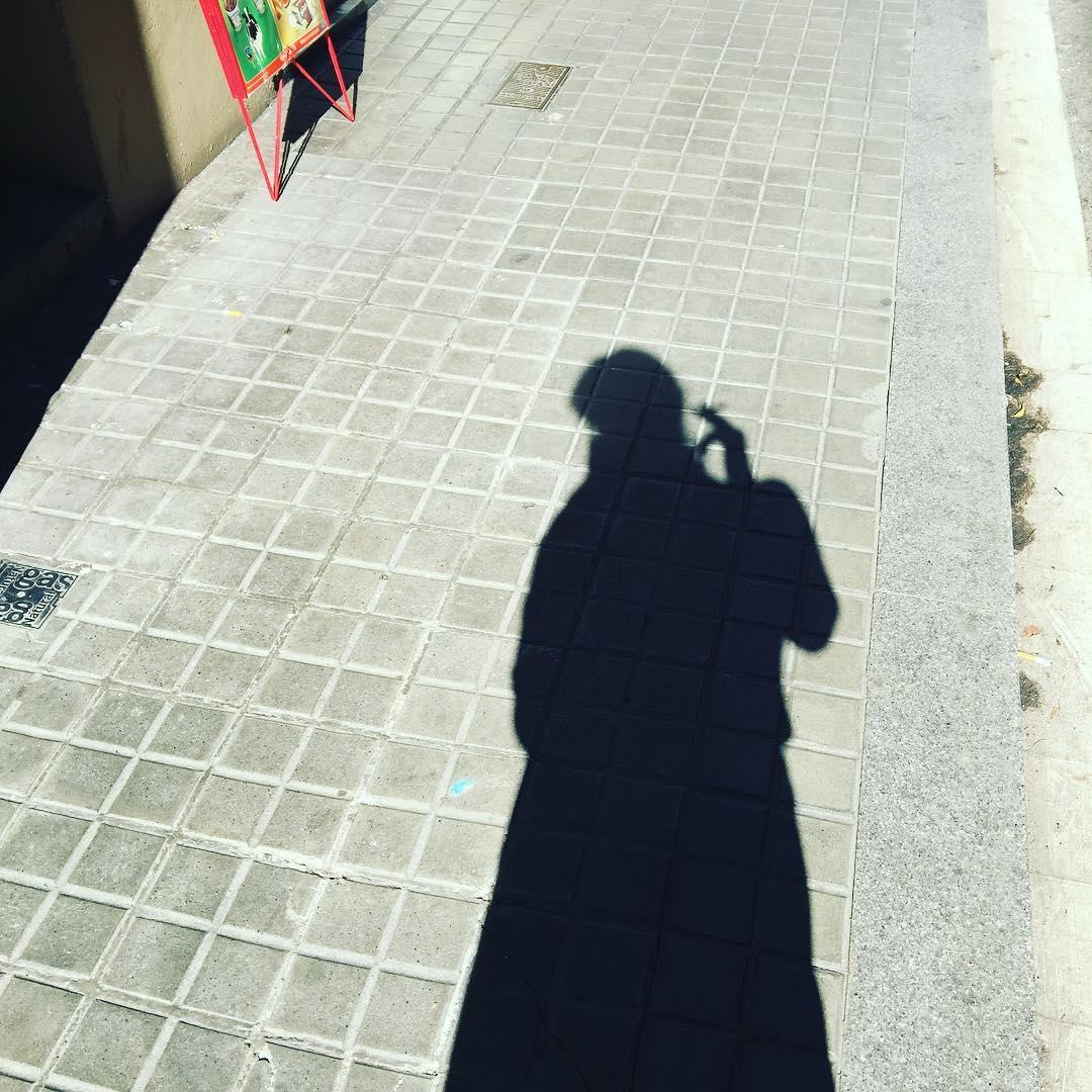 La sombra que fuma :))
