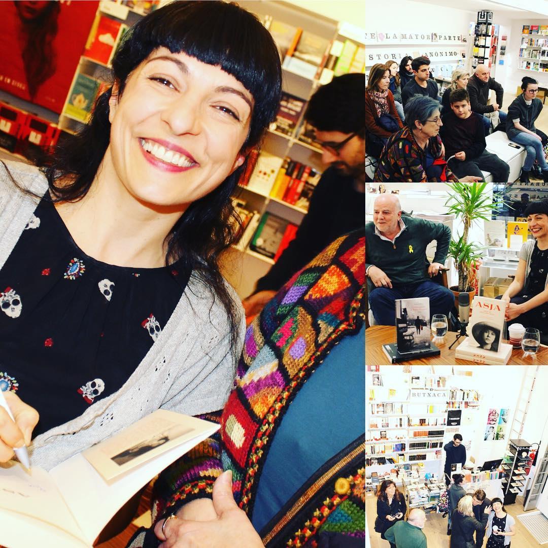 roser amills fotos de Mario Jaime Zareceansky de la presentación de ayer en @malpaso.libreria :))
