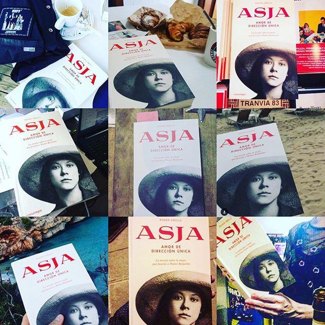 Gràcies @helenmes per haver triat llegir la novel.la sobre #asjalacis & #walterbenjamin. La teva lectura fa justícia amb aquesta important dona!