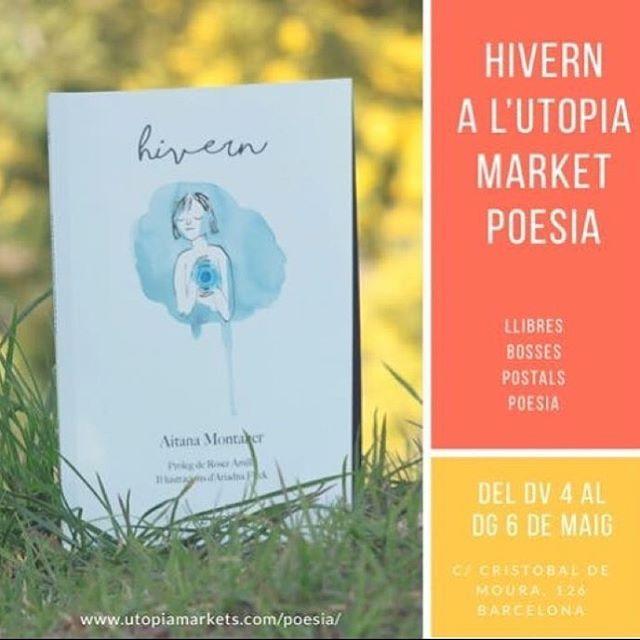 Del 4 al 6 de maig, l' @aitaner i jo tornem a ser poetes tot el temps i us esperem: veniu a comprovar perquè li vaig voler prologar el seu esplèndid primer poemari. Jo portaré els meus llibres i us prepararem un munt de sorpreses!