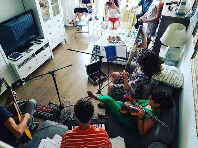 Un sol de fiesta Raimon Moreno, Fede Digital, Lucía Salcedo, mi amor David Gau, Pauleta Violina y mucha alegría más!!