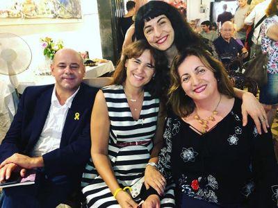 Visca PoésArt amb @borras.laura @FannyTurRiera @joaneliesadell @lletres @conselleriaCPE @EscriptorsAELC Associació d'Escriptors en Llengua Catalana, la Fundació Mallorca Literària, la Direcció de Política Lingüística de les Illes Balears i l'Ajuntament d'Artà