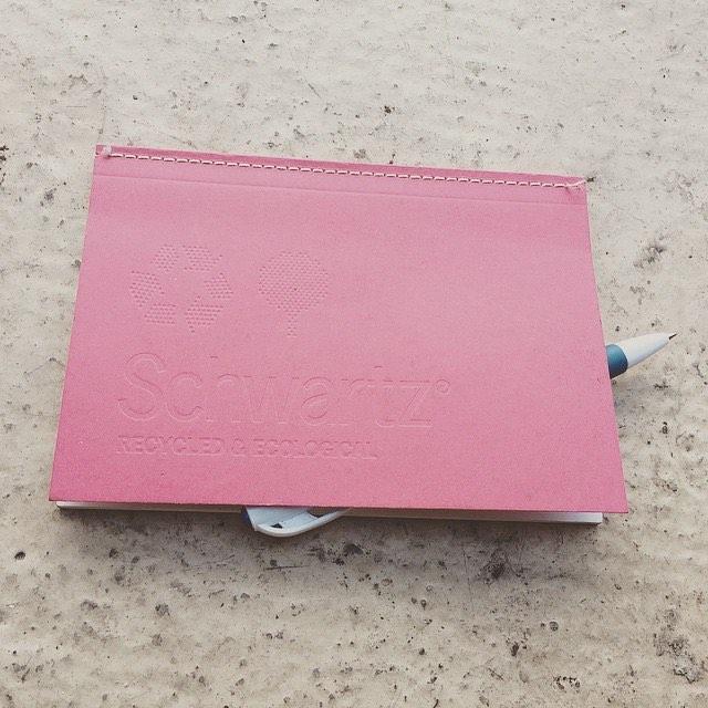También me gustan los cuadernos reciclados #schwartzrecycled & Ecological