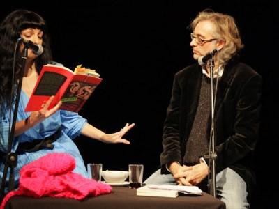 Foto | 3 Víctor Amela y Roser Amills 14 de enero 2013 ©Jordi Oset – Antic Teatre
