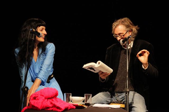 Víctor Amela y Roser Amills 14 de enero 2013 ©Jordi Oset – Antic Teatre