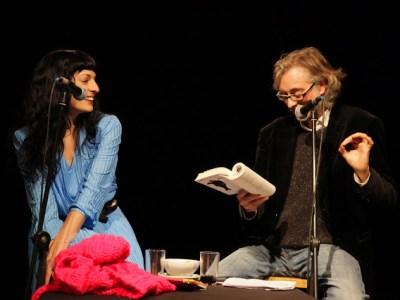 Foto | 2 Víctor Amela y Roser Amills 14 de enero 2013 ©Jordi Oset – Antic Teatre