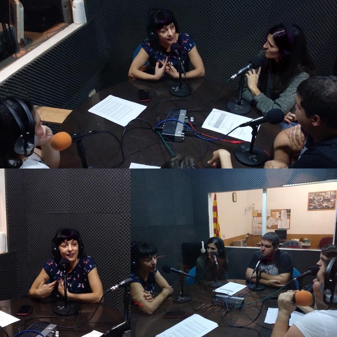 Avui ja teniu online l'entrevista que em van fer ahir a la ràdio de #santsmontjuïc, al programa @lmqnp . De llibres i de #felicitat. La trobareu a onadesants.cat. @xrcbcn @secretariat_shb