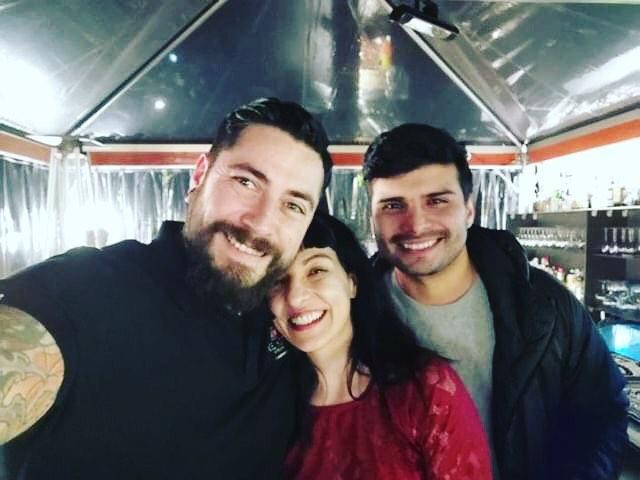 Anoche disfrutamos juntos el estreno de la 4ª temporada de #visavisenfox #viavis4 @ en @foxtves con @ItziarCastro #goyamola y qué magnetismo tiene esta mujer!