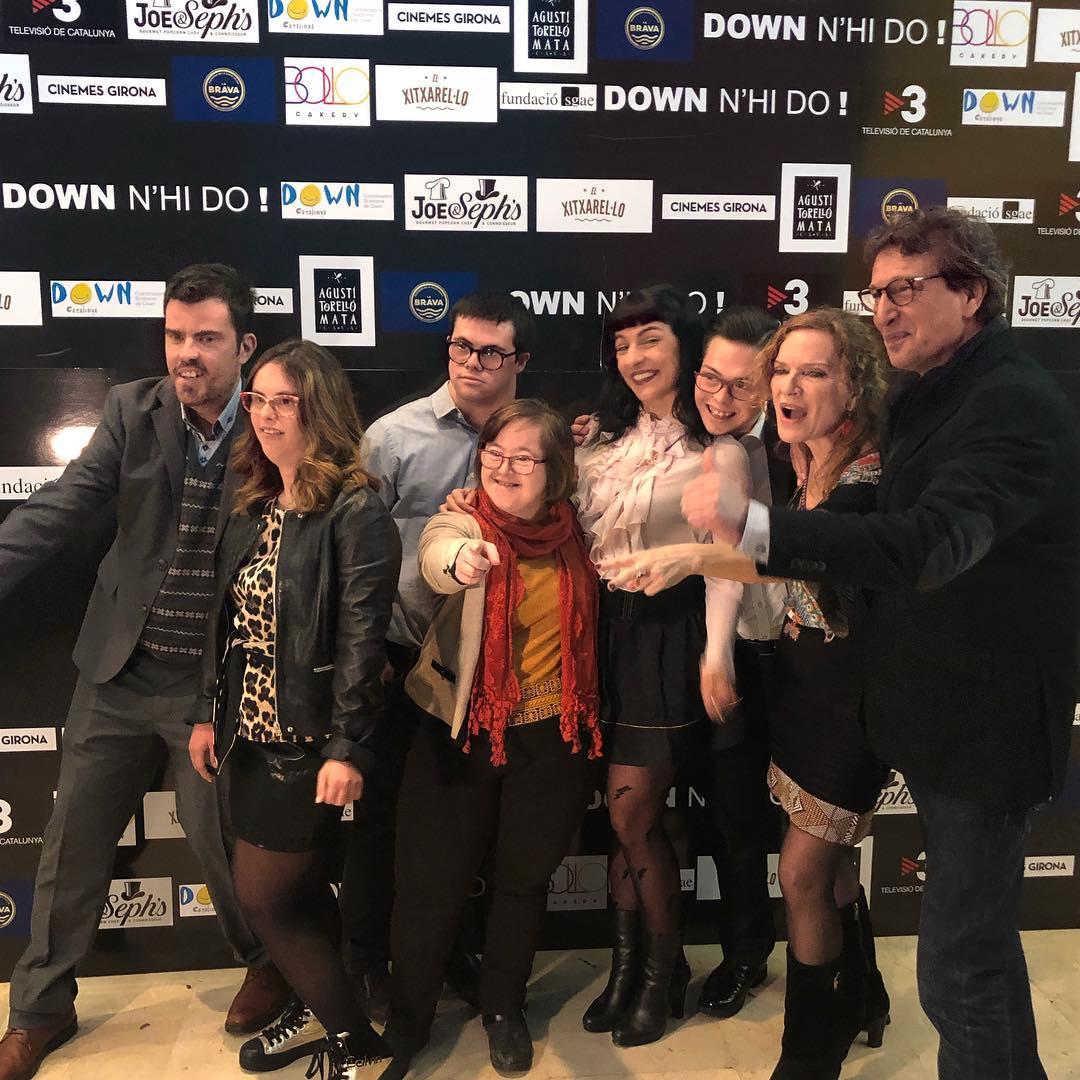 roser amills Cinemes Girona per l'estrena d'una pel·lícula documental que emociona @downnhido #downnhido #cinema #cultura #barcelona #down #premisgaudi2018 #documental #art #amor #cinemesgirona