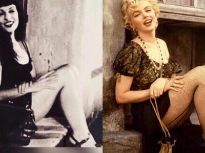 Hay mil formas de imitar a Marilyn Monroe y no lograrlo. Así están las cosas en el @barridegracia #marilynmonroe