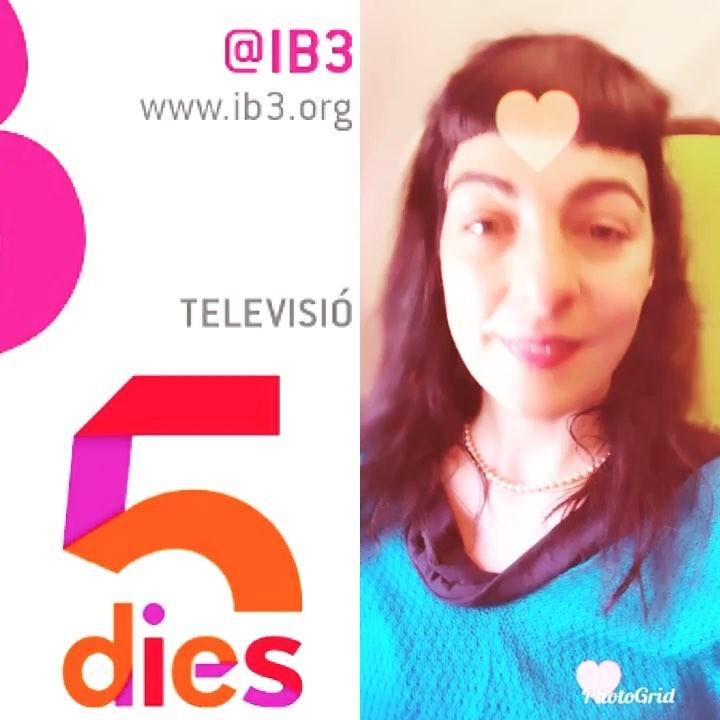 Roser Amills a IB3 televisio