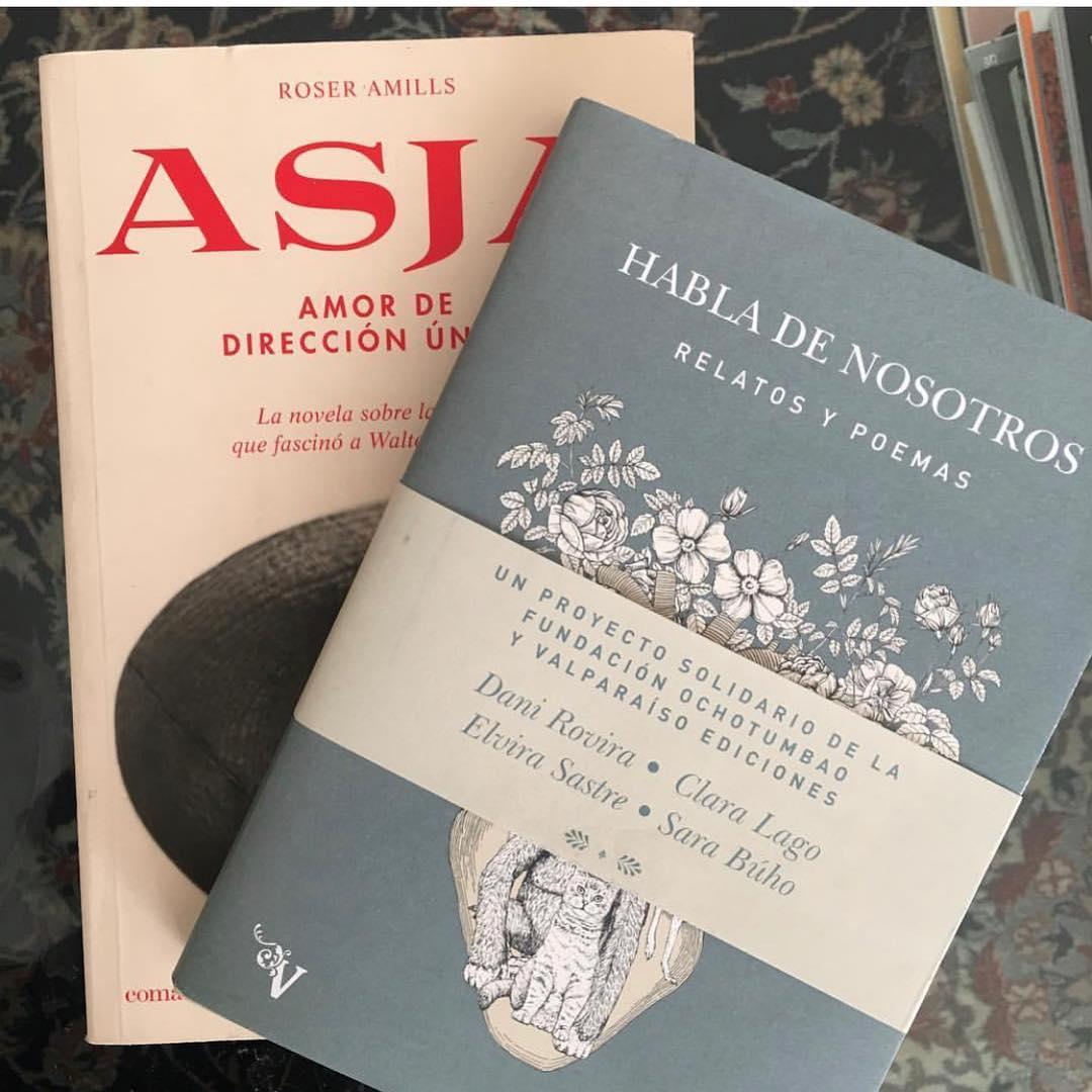 Gracias #reyesmagos por regalar hoy, también, la novela sobre #asjalacis & #walterbenjamin, es un regalo para su memoria y para mí  [foto de la preciosa @soniaand.co ]