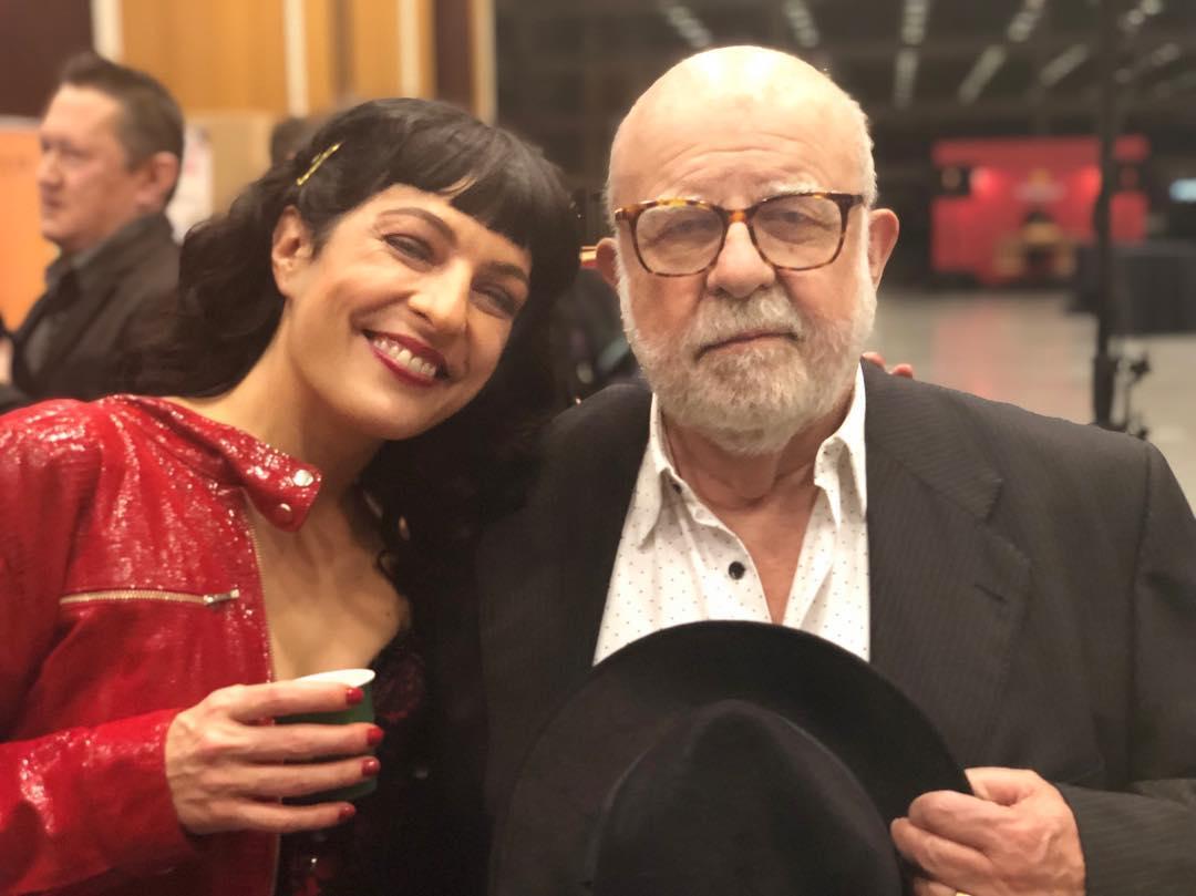 Roser Amills y #jaumefigueras i m'ha alegrat molt els #premisgaudi #premisgaudi2019 @cafenovell_santandreu ;))