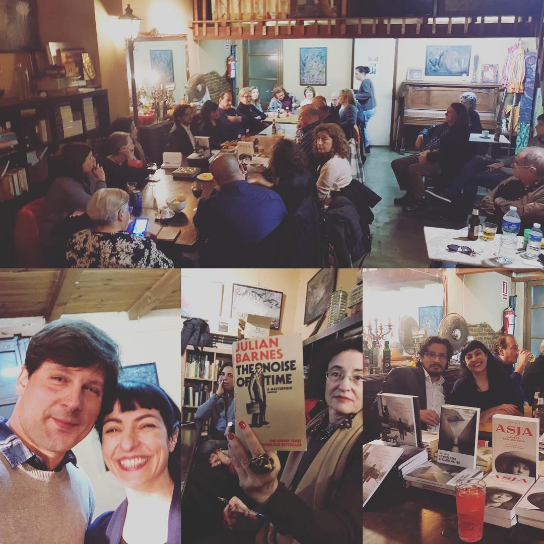 Alegría! Hablamos de #asjalacis, #walterbenjamin y #julianbarnes