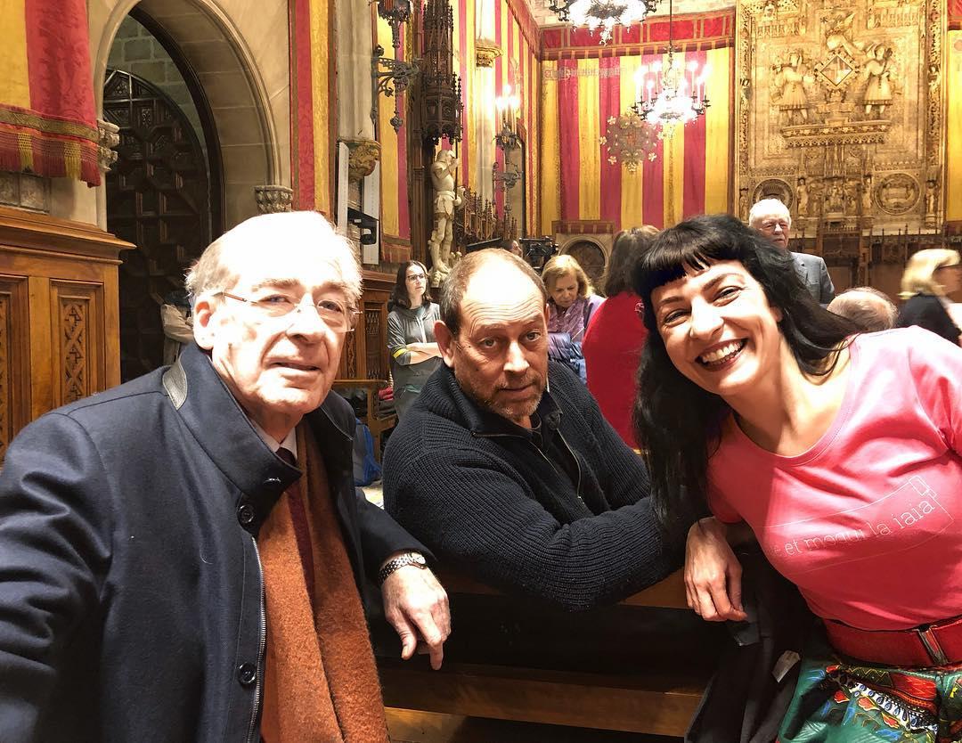 """El editor de @anagramaeditor #JorgeHerralde recibe ahora la Medalla de Oro al Mérito Cultural de Barcelona, por situar a la ciudad """"como una de las capitales editoriales del mundo"""". Felicitats!!!"""