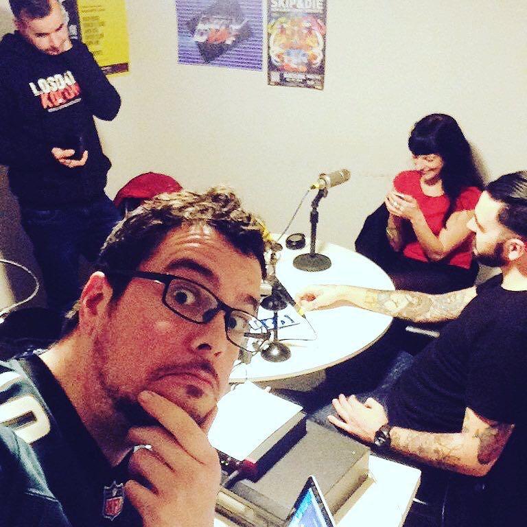Roser Amills en la radio