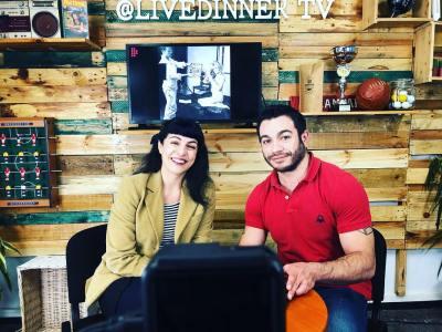 Con Miquel Claudi Lopez de la televisión Livedinner.tv hablamos del #diainternacionaldelamujer