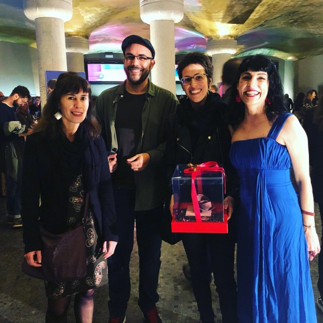 Eva Baltasar, Roser Amills, Aleko Capilouto, Veronica Nieto, Sant Jordi 2019