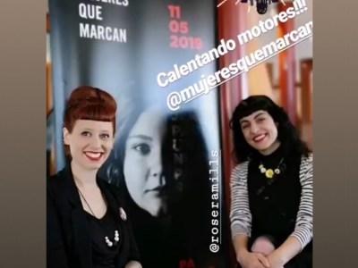 Rueda de prensa en Mallorca del foro Mujeres que Marcan de mayo 2019
