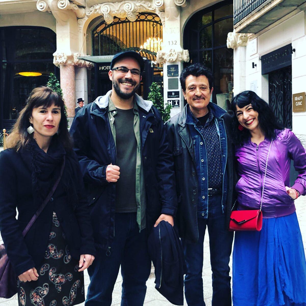 Manolo Garcia, Roser Amills, Aleko Capilouto, Veronica Nieto, Sant Jordi 2019
