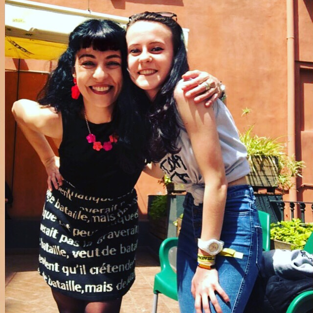 Laia Prat i Roser Amills, Sant Jordi 2019